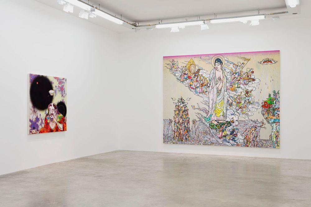Artist:Takashi MURAKAMI, Exhibition:Learning the Magic of Painting