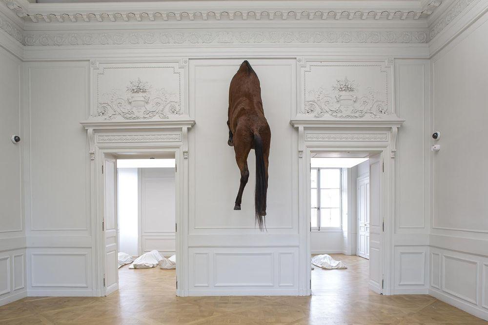 Artist:Maurizio CATTELAN, Exhibition:NOT AFRAID OF LOVE