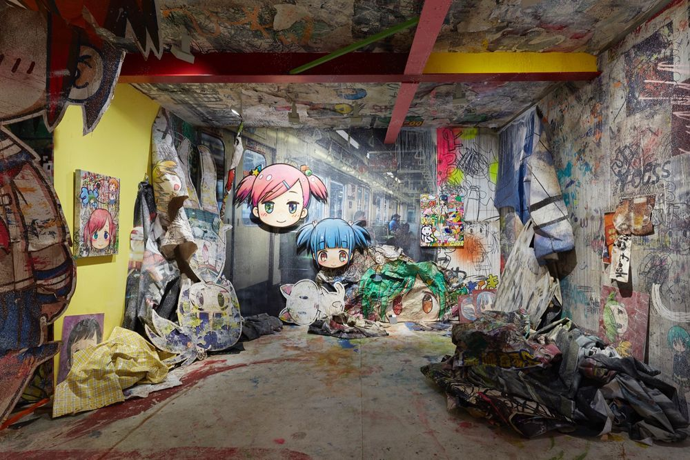 Artist:Mr., Exhibition:Tokyo, the City I Know, at Dusk: It's Like a Hollow in My Heart