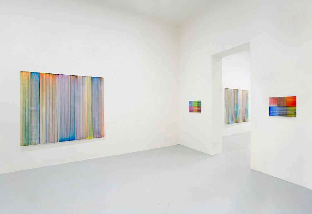 Artist:Bernard FRIZE, Exhibition:Bernard Frize. Northern Lights, Waterfalls and Oceans.