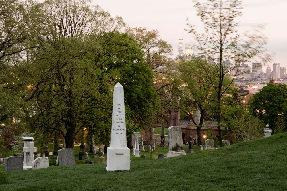 Artist:Sophie CALLE, Exhibition:Creative Time presents Here Lie the Secrets of Green-Wood Cemetery