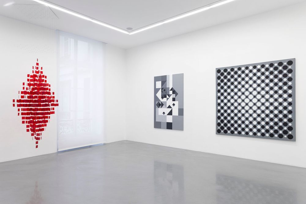 Artist:Julio LE PARC, Exhibition:BIFURCATIONS