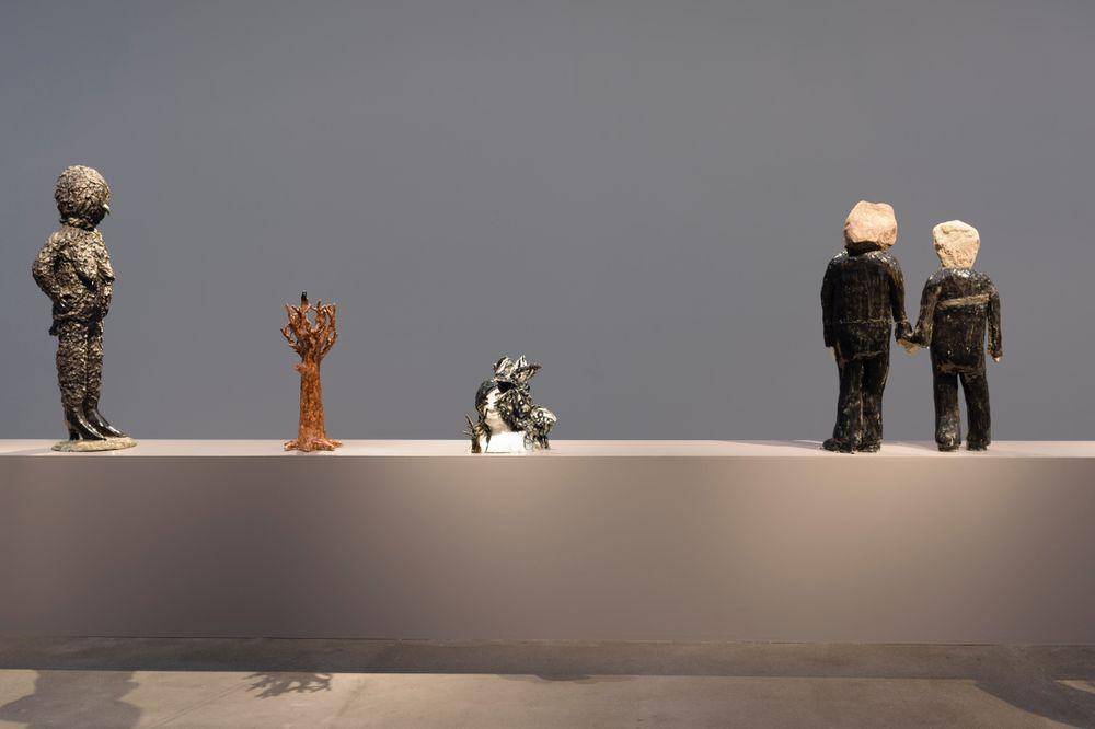Artist:Klara KRISTALOVA, Exhibition:Yellow Creature - Aspekte der Transformation