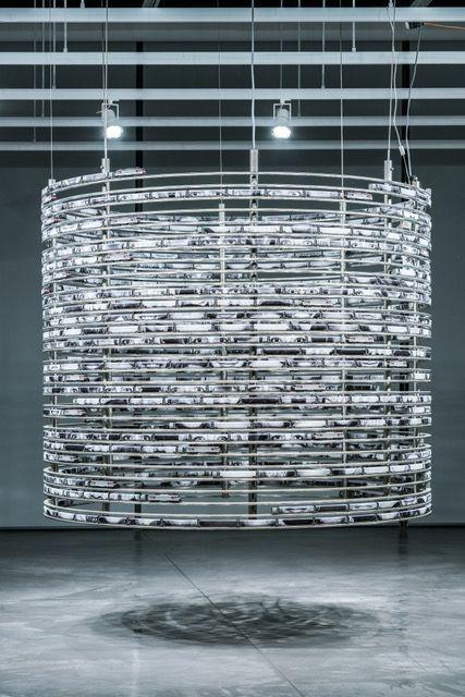 Artist:JR, Exhibition:Mind the Gap