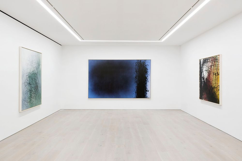 Artist:漢斯·哈同, Exhibition:A Constant Storm. Works from 1922 to 1989