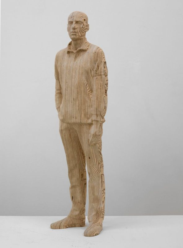 Artist:Xavier VEILHAN, Exhibition:Sculptures Automatiques