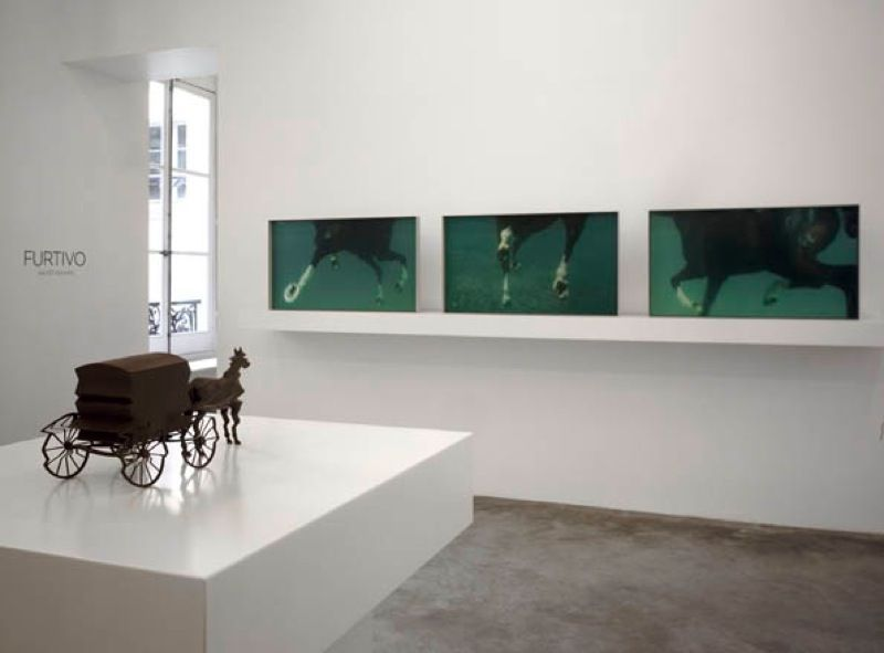 Artist:Xavier VEILHAN, Exhibition:Furtivo
