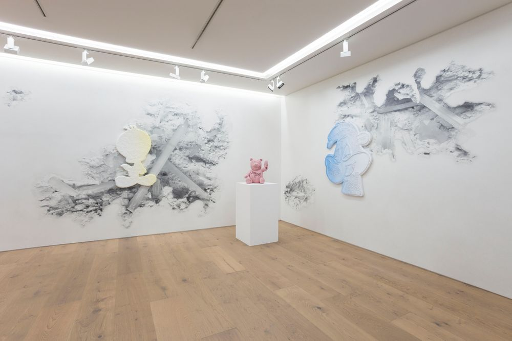 Artist:Daniel ARSHAM, Exhibition:カラー・シャドウ (Color Shadows)