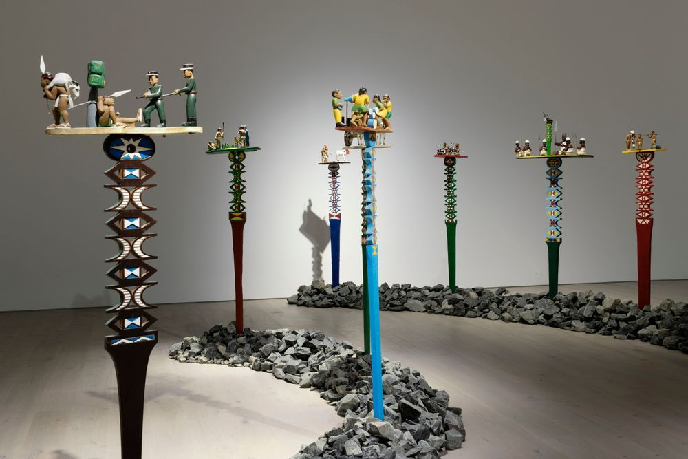 Artist:, Exhibition:Aloalo, Mahafaly Sculptures of the Efiaimbelos