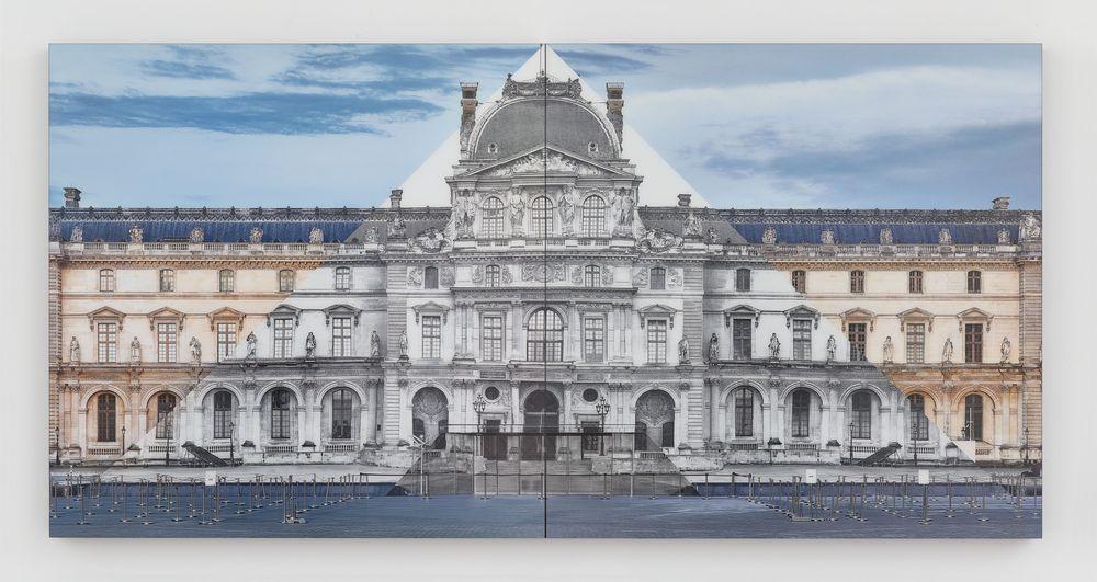 Artist:JR, Exhibition:Unveiling