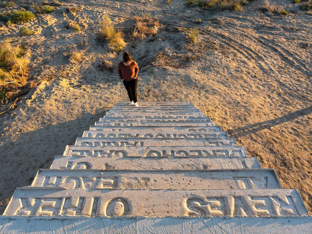 Artist:Iván ARGOTE, Exhibition:Point of view, Desert X