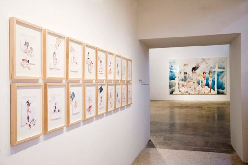 Artist:Aya TAKANO, Exhibition:Wild dogs, hawks, owls, cats, a landfill the size of 44 and a half Tokyo Domes, the stratosphere