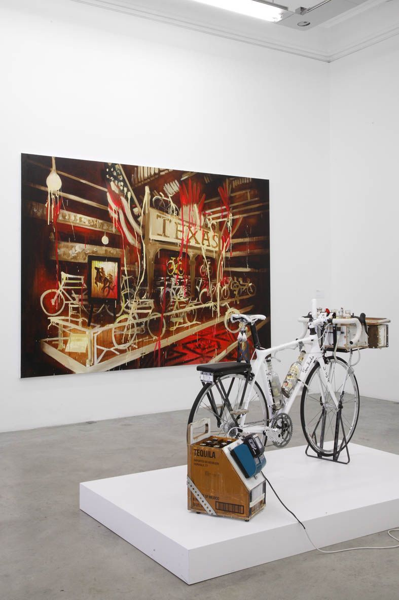 Artist:Rosson CROW, Exhibition:STAGES Lance Armstrong Foundation launch a global art exhibition to raise funds and awarness in the fight against cancer