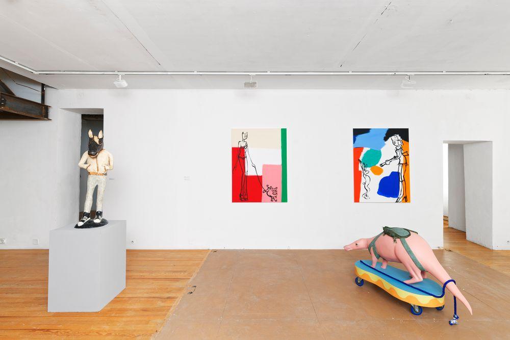 Artist:Klara KRISTALOVA, Exhibition:Figures de l'Animal