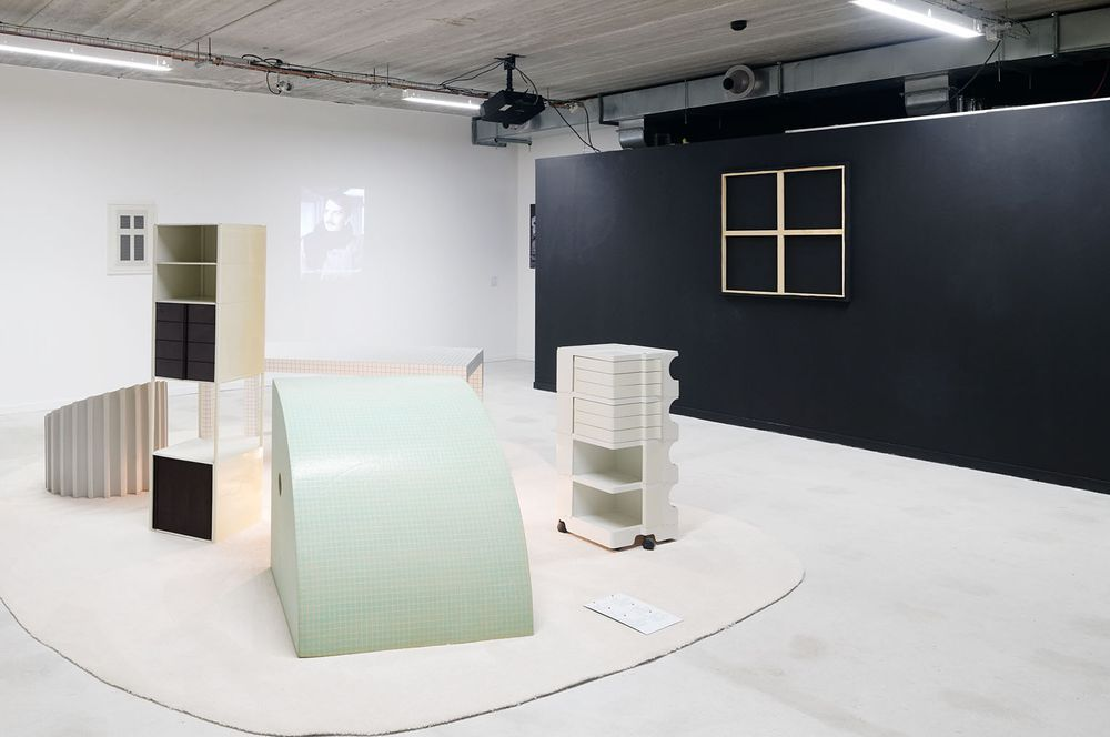 Artist:Claude RUTAULT, Exhibition:Space is a House