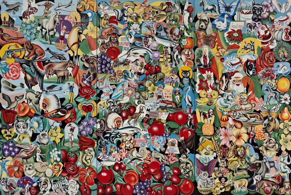 Artist:ERRÓ, Exhibition:Histoire de l'art cherche personnages