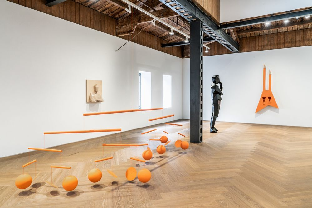 Artist:Xavier VEILHAN, Exhibition:Channel Orange