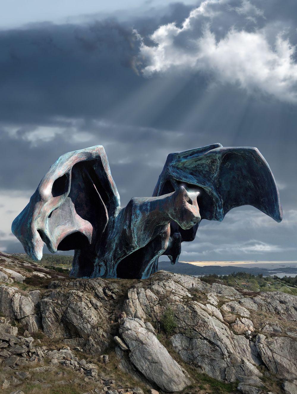 Artist:Johan CRETEN, Exhibition:DJUR NATUR SKULPTUR