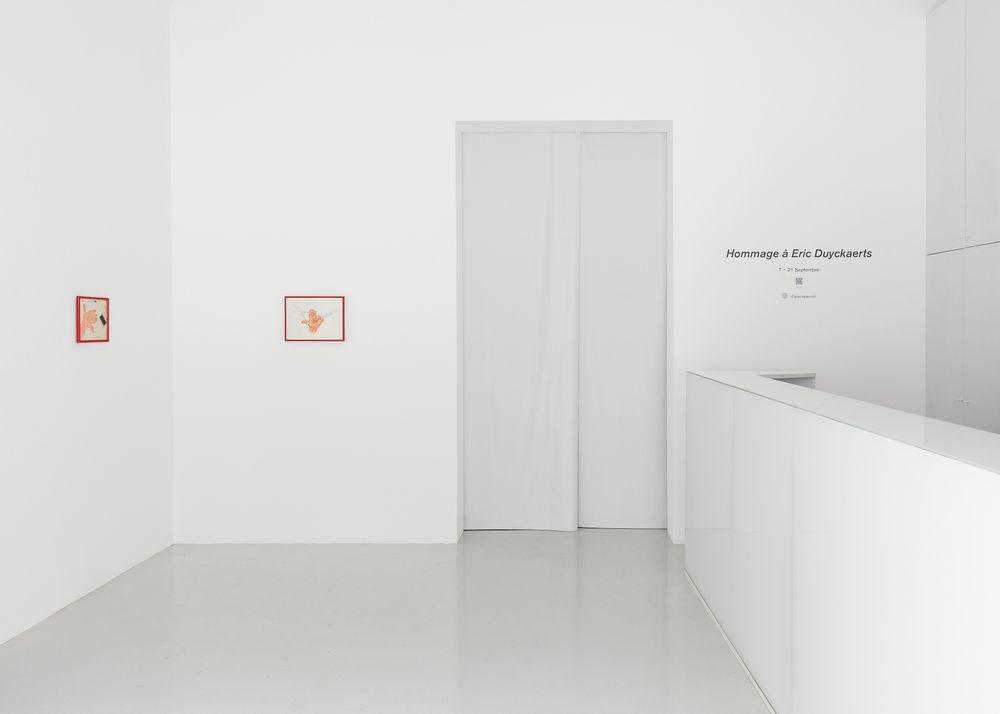 Artist:Eric DUYCKAERTS, Exhibition:Homage to Eric Duyckaerts