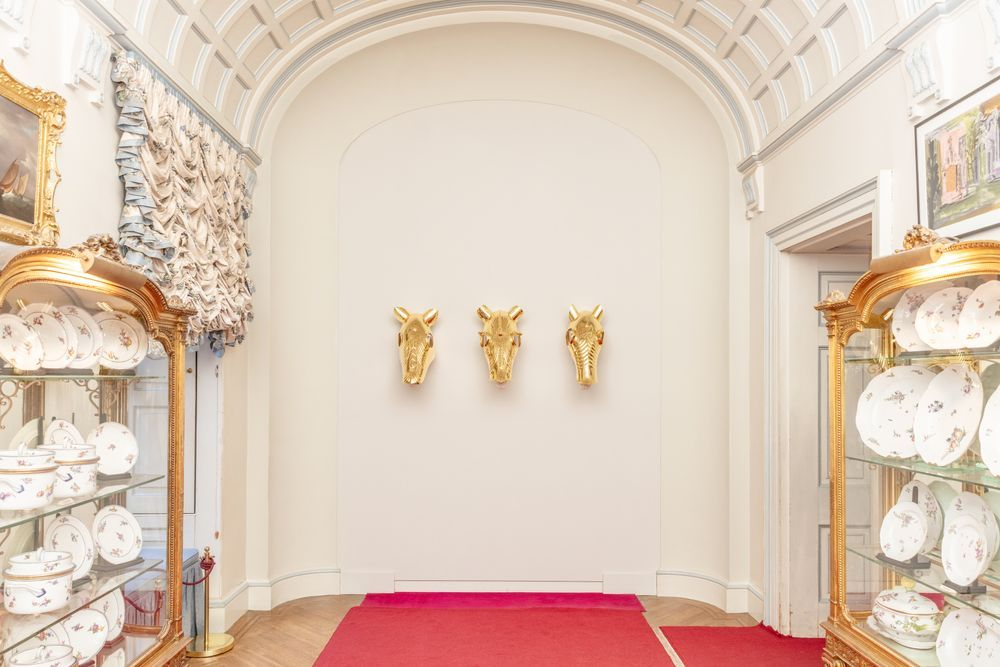 Artist:Maurizio CATTELAN, Exhibition:Victory is Not an Option