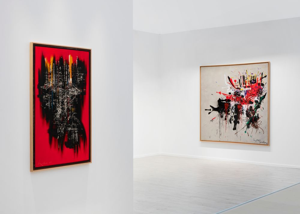 Artist:Georges MATHIEU, Exhibition:Frieze Masters