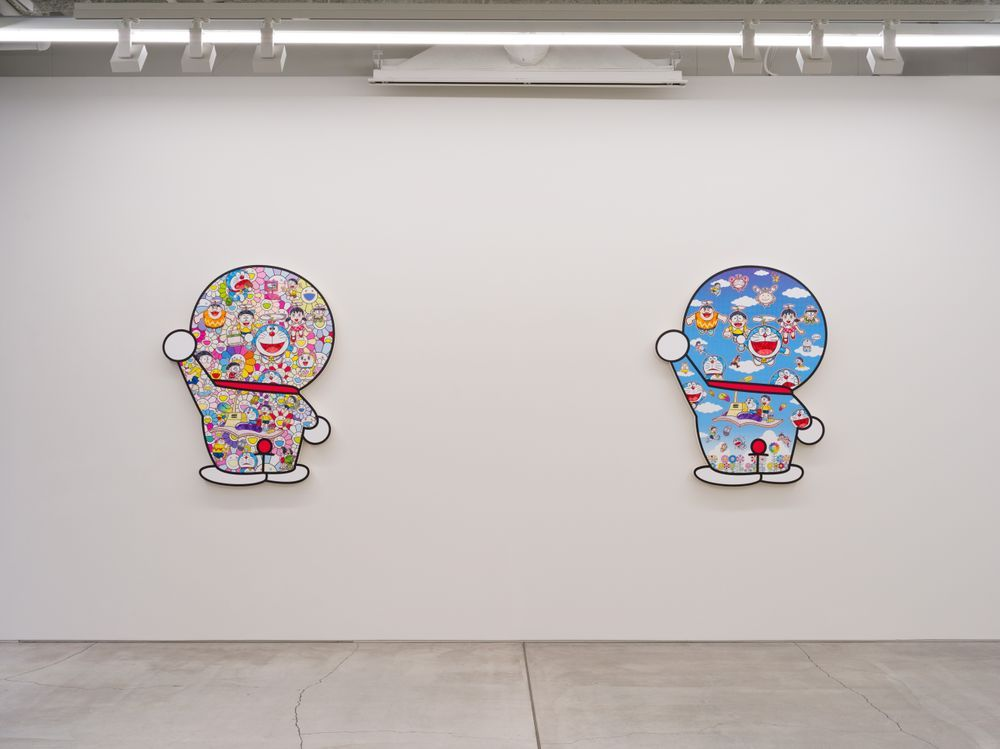 Artist:Takashi MURAKAMI, Exhibition:Superflat Doraemon