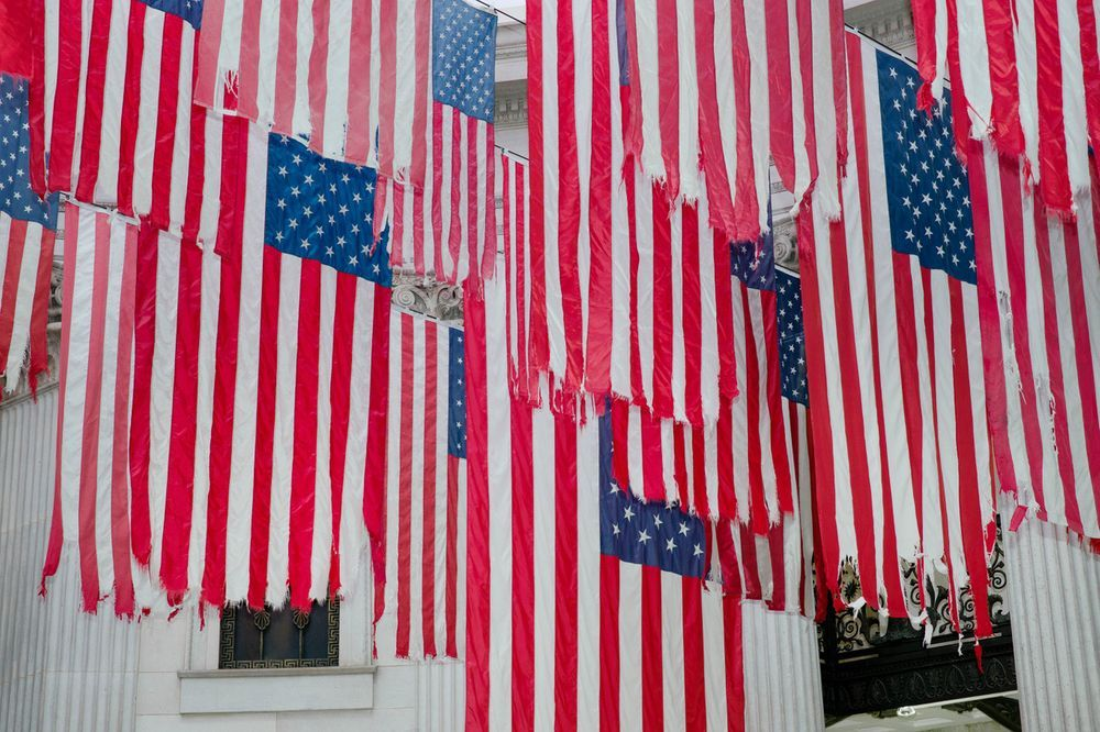 Artist:ERICSON & ZIEGLER, Exhibition:Flag Exchange