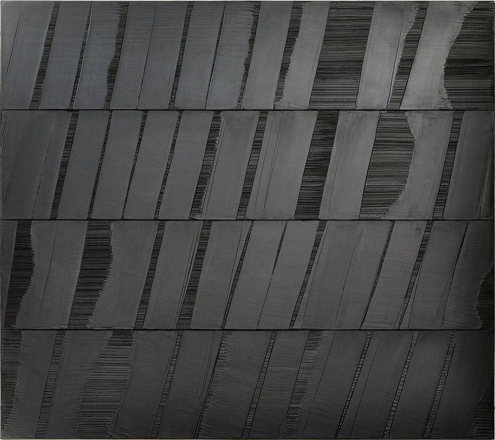 Artist:Pierre SOULAGES, Exhibition:Soulages au Louvre
