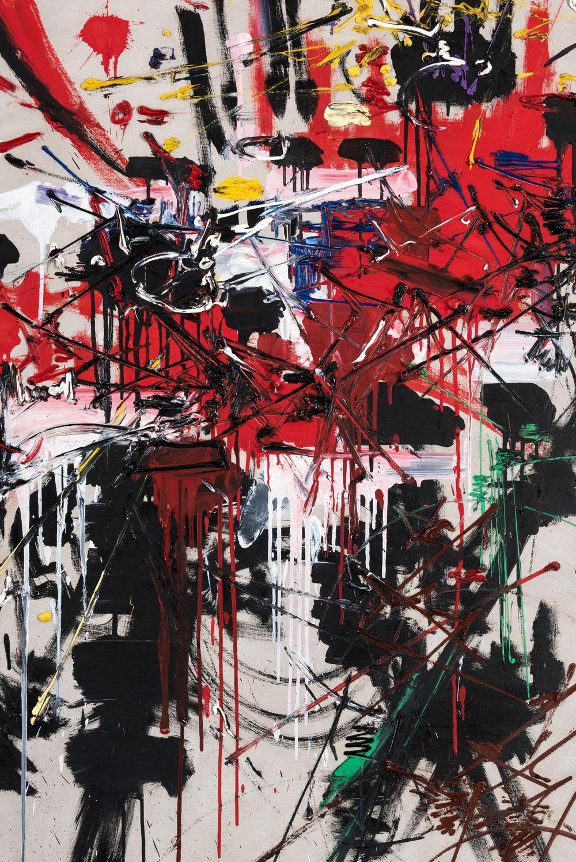 Artist:Georges MATHIEU, Exhibition:Frieze Masters