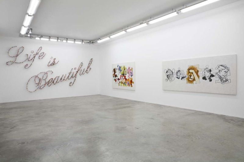 Artist:Farhad MOSHIRI, Exhibition:Silly you, Silly me