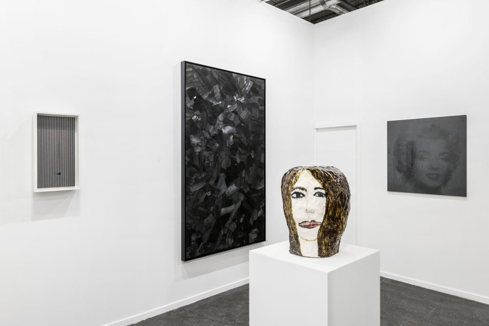 Artist:Bernard FRIZE, Exhibition:ARCO Madrid