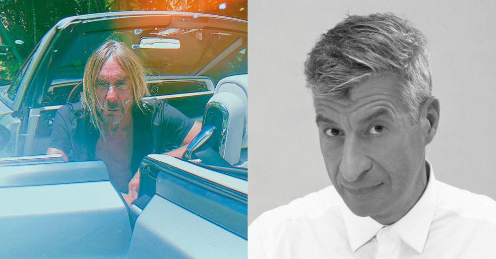 Artist:Maurizio CATTELAN, Exhibition:Limited Edition Vinyl Launch and Signing with Iggy Pop and Maurizio Cattelan