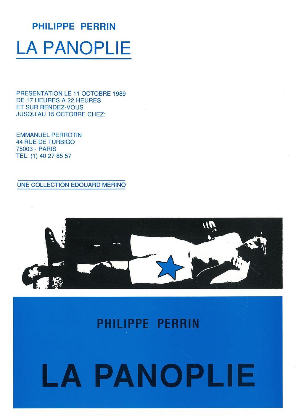 Artist:Philippe PERRIN, Exhibition:La panoplie