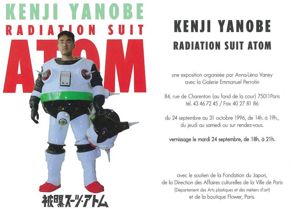Artist:Kenji YANOBE, Exhibition:Radiation suit atom
