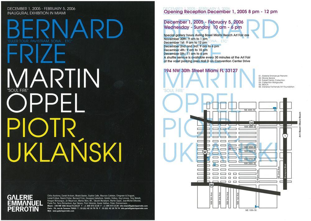 Artist:Bernard FRIZE, Exhibition:Euler Tour, Pavistram, Sona ...