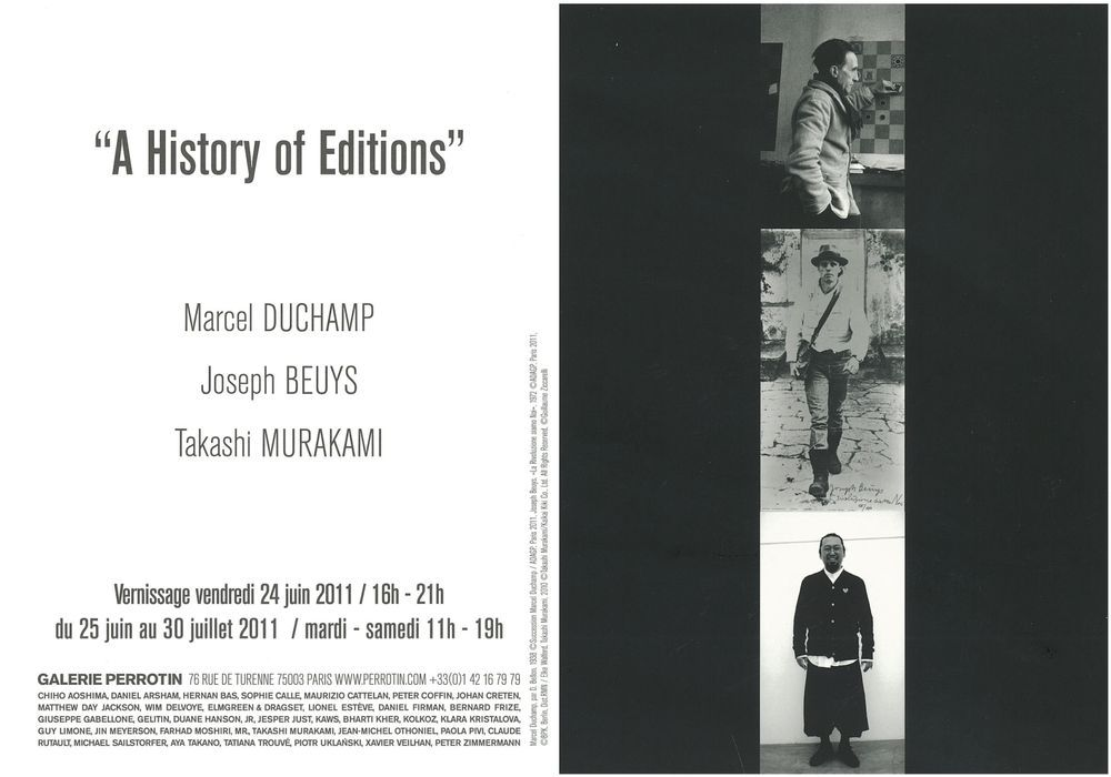 Artist:, Exhibition:A History of Editions