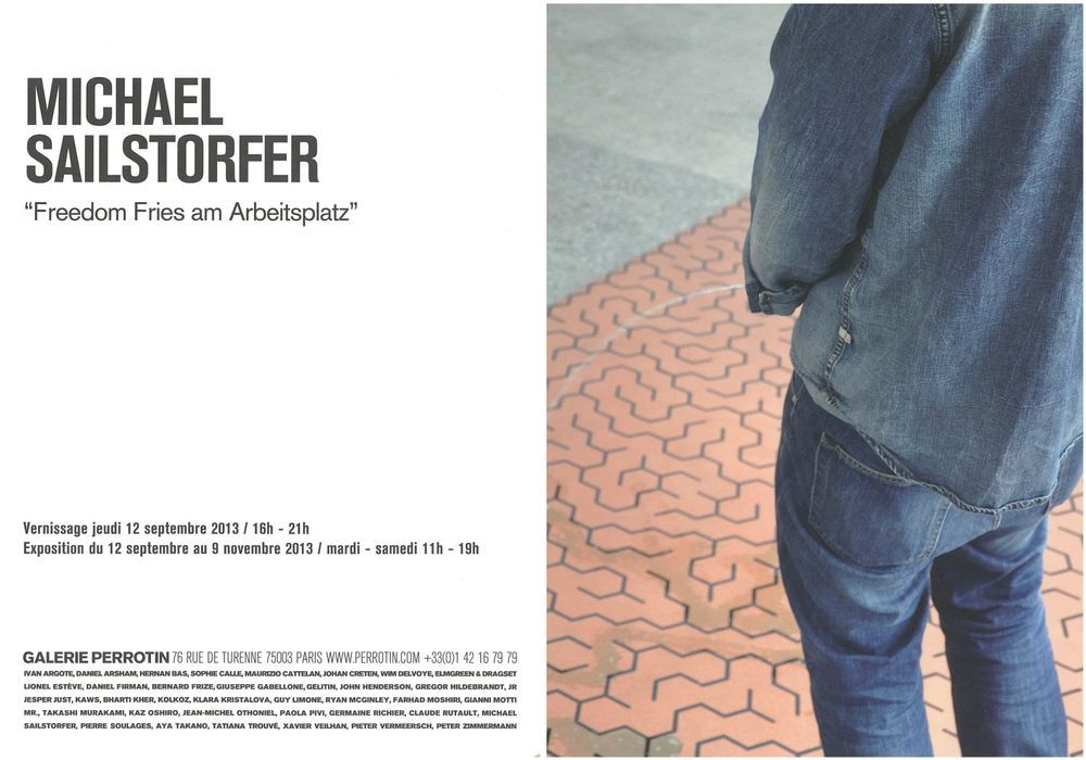 Artist:Michael SAILSTORFER, Exhibition:Freedom Fries am Arbeitsplatz