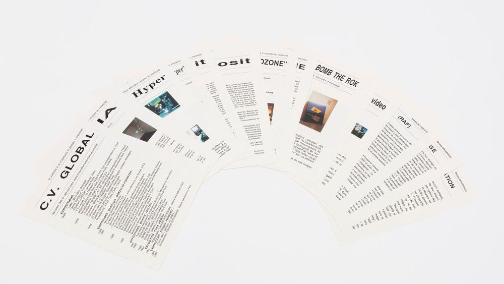 Artist:Philippe PARRENO, Exhibition:Le catalogue évolutif