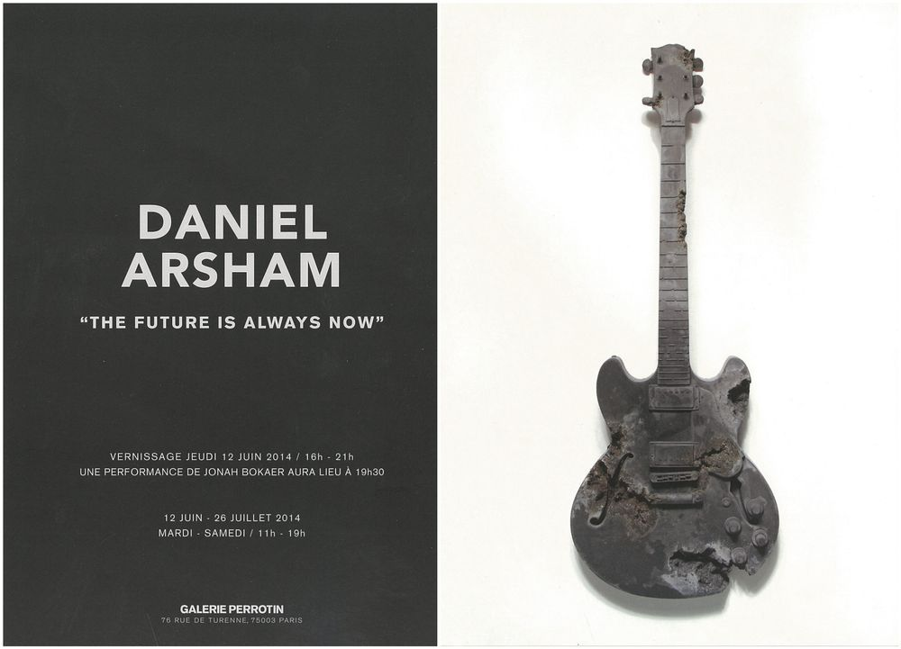 Artist:Daniel ARSHAM, Exhibition:The Future is Always Now