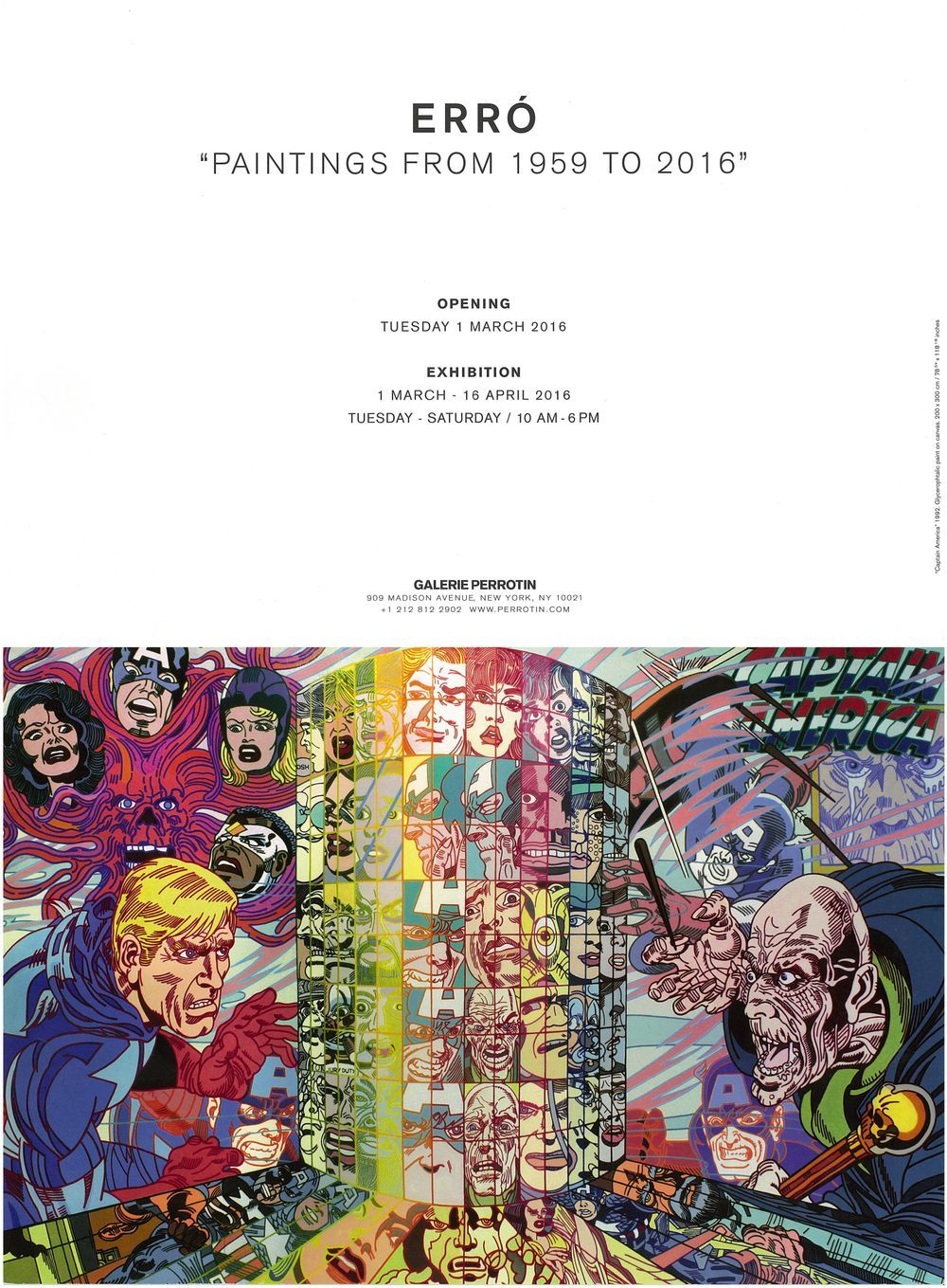 Artist:ERRÓ, Exhibition:Erró - Paintings from 1959 to 2016