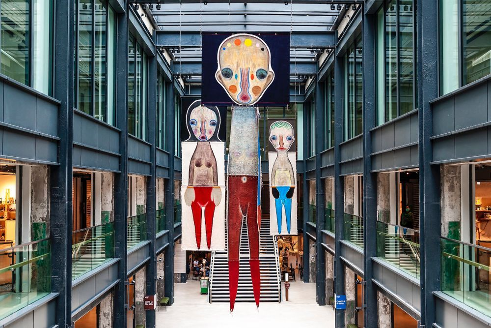 Artist:Izumi KATO, Exhibition:Unconstrained Textiles: Stitching Methods, Crossing Ideas