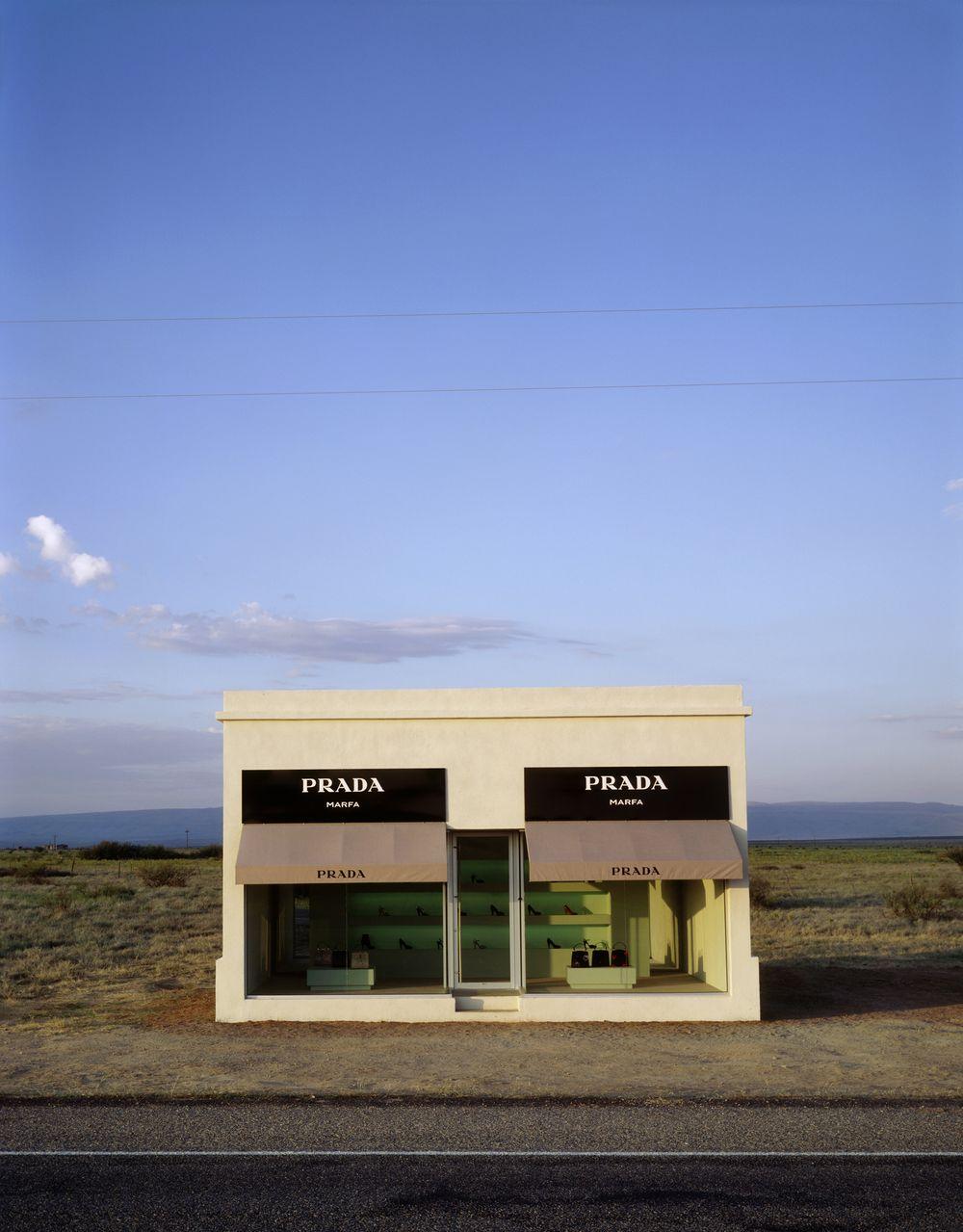 Artist:Elmgreen & Dragset, Exhibition:Prada Marfa
