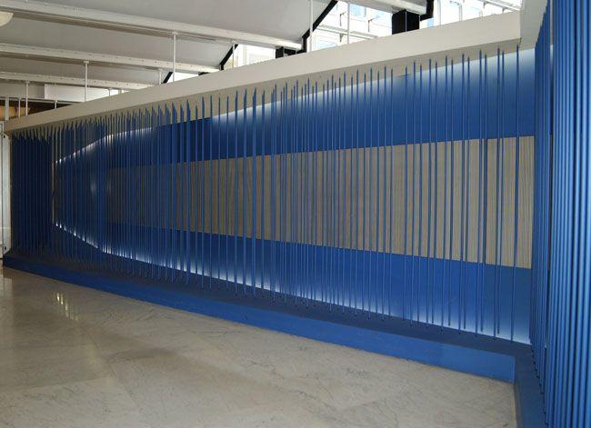 Artist:Jesús Rafael SOTO, Exhibition:Matière, espace et temps ne font qu'un