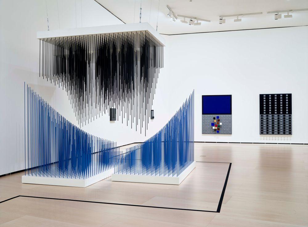 Artist:Jesús Rafael SOTO, Exhibition:Soto. The Fourth Dimension