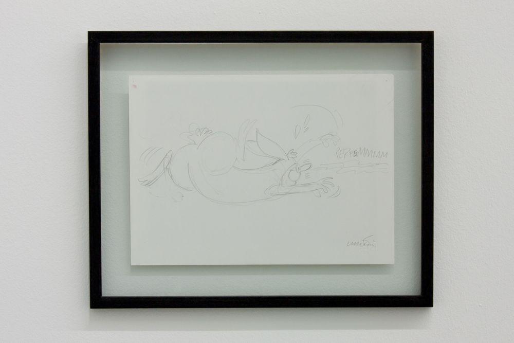 Artist:Maurizio CATTELAN, Exhibition:Errotin le vrai lapin