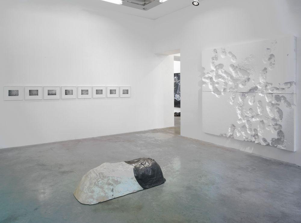 Artist:David HAMMONS, Exhibition:Empreinte moi