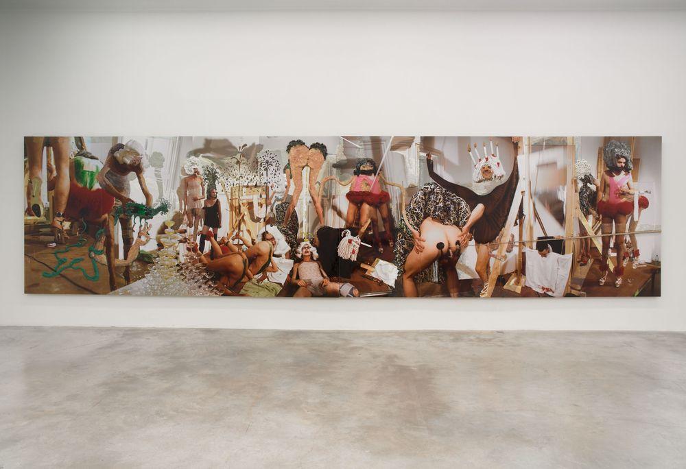 Artist:GELITIN, Exhibition:Qu'ils mangent de la brioche