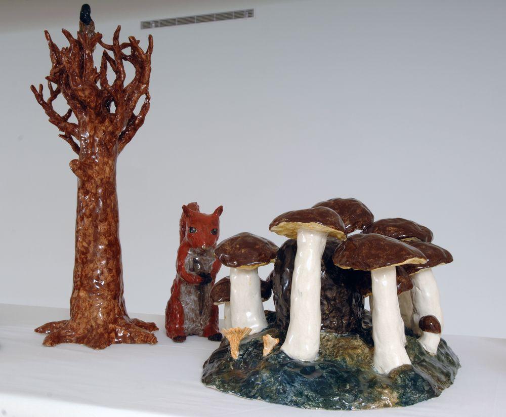 Artist:Klara KRISTALOVA, Exhibition:Two dark holes and other stories