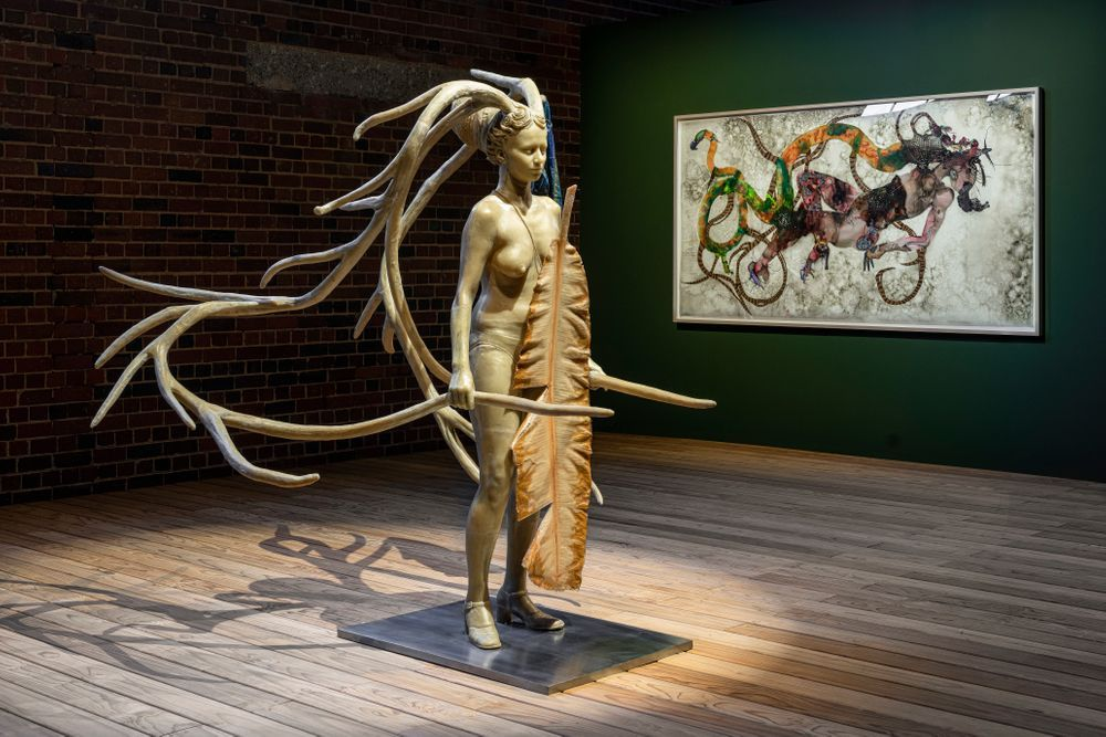 Artist:Bharti KHER, Exhibition:Contemporary Female Identities in the Global South