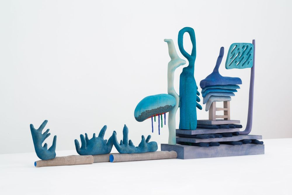 Artist:Daniel ARSHAM, Exhibition:OVR:2020